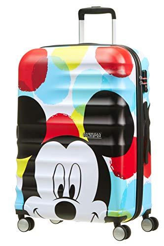 American Tourister Disney Wavebreaker - Maleta Infantil, Spinner M (67 cm -...