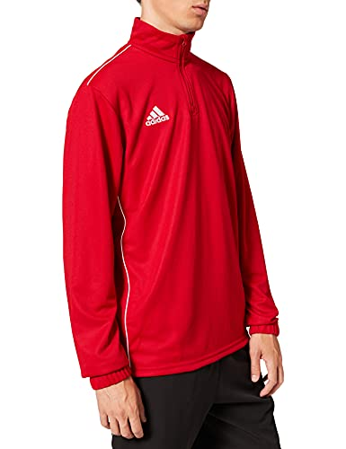 adidas CORE18 TR Top Sudadera, Hombre, Power Red/White, 2XL