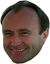 Phil Collins (Young) Masks of famous people, cardboard faces