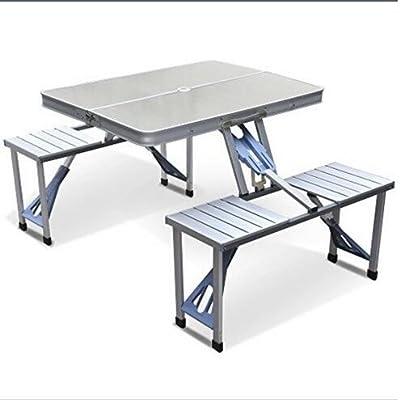smartlife Aire Libre Split de Aluminio mesas Plegables y sillas ...