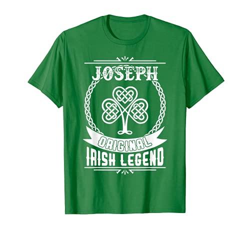 JOSEPH original leyenda irlandesa día San Patricio 2T4t Camiseta