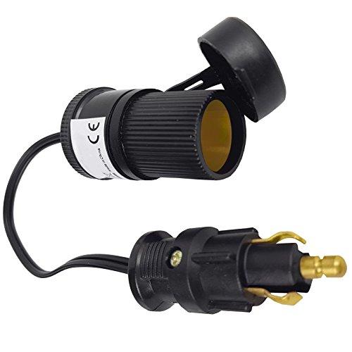 Universalbuchse Zigarettenanzünder Adapter Navi 12 24 Volt Kabel für PKW LKW
