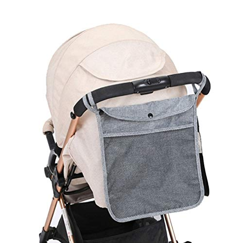 WXX Bambino Trolley Net Bag Universal Storage Baby Care (Blu) (Color : Gray)