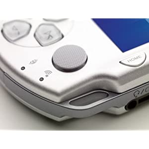 Sony PSP Playstation Portable 2000 Slim and Lite- Ice Silver (Renewed)