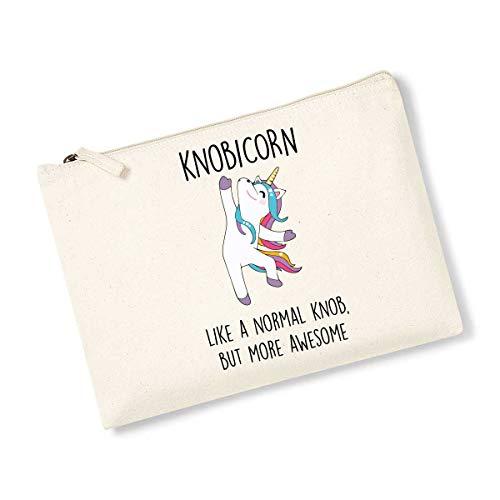 Knobicorn Trousse à maquillage Motif licorne