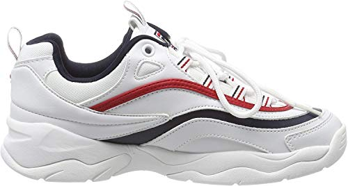 Fila Damen Ray Low WMN Sneaker, Weiß (White 1010562-150), 38 EU