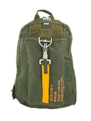 Farm Blue Tactical Backpack – Army Parachute Clip Deploy Military Survival Molle Bug Out Bag