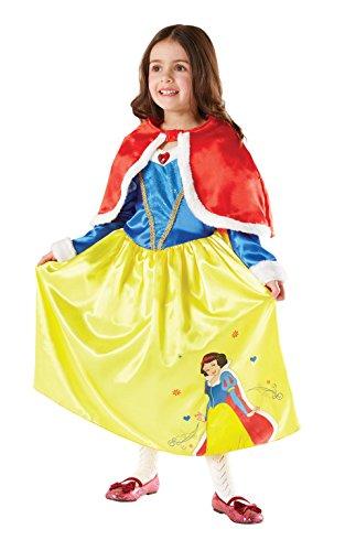 Rubie's-déguisement officiel - Disney- Déguisement Costume Luxe BlancheNeige Winter In Wonderland - Taille M- I-881856M