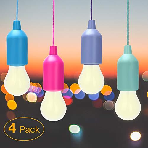 Lámpara LED Para Acampar, Bombilla, Luz Decorativa, Lluz Brillante Para Acampar Senderismo Para Acampar Luz Nocturna Para La Pesca, Jardín, Camping