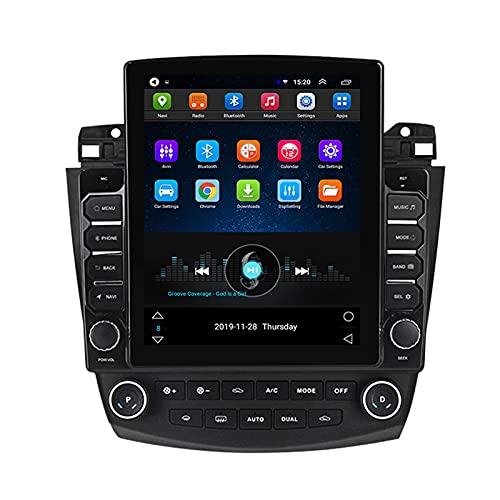 ADMLZQQ Android Estéreo De Coche Autoradio In-Dash para Honda Accord7 2003-2007, Radio Coche 9,7 Pulgadas con GPS Reproductor Multimedia FM Bluetooth USB Dual Cámara De Respaldo,Ts100 WiFi:1+16g