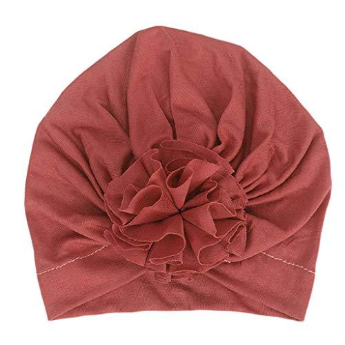JERKKY bonen baby pasgeboren baby katoen tulband hoed geplooid gerimpeld zachte hoofddoek schattig bloem peuter muts foto rekwisieten