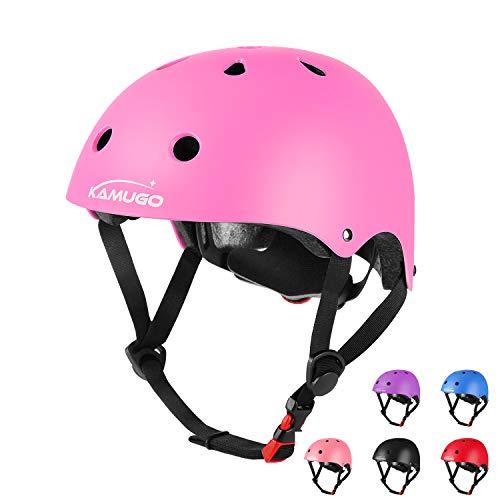 KAMUGO Kids Adjustable Bike Helmet, Suitable for Toddler Age...