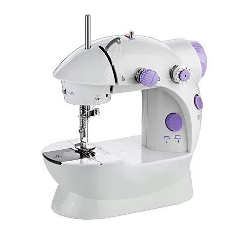 YAOHM Elektrische naaimachine met lamp, mini-huis, multifunctioneel, kleding voor naaimachine, auto