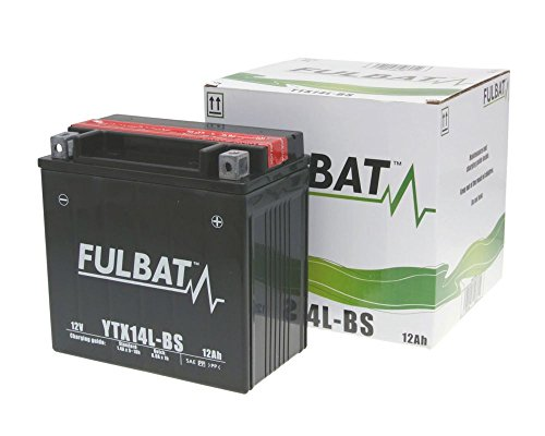 Batterie FULBAT YTX14L-BS MF wartungsfrei für HARLEY-DAVIDSON XL, XLH (Sportster) 1200 ccm Bauj[ inkl.7.50 EUR Batteriepfand ]