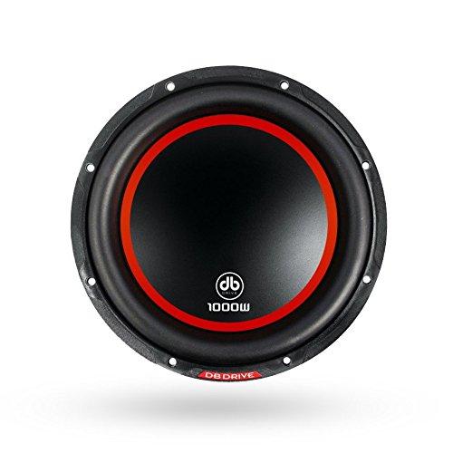 """db Drive K4 10D4 DVC Subwoofer 1000W Dual 4 Ω Voice Coil, 10"""""""
