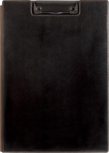 キングジム クリップボード レザフェス A4 黒 1932LF黒