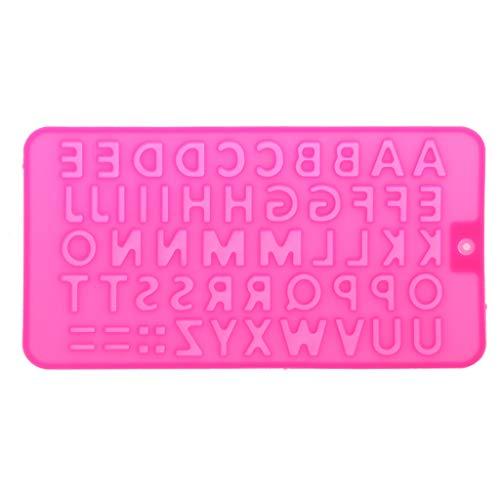 Simplelife 26 Alfabet Letters Ice Cube lade siliconen mal hars sieraden maken ambacht gereedschap (kleur willekeurig)