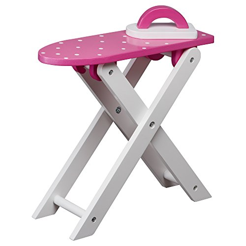 Olivia's Little World TD-12684A poppen strijkplank, roze