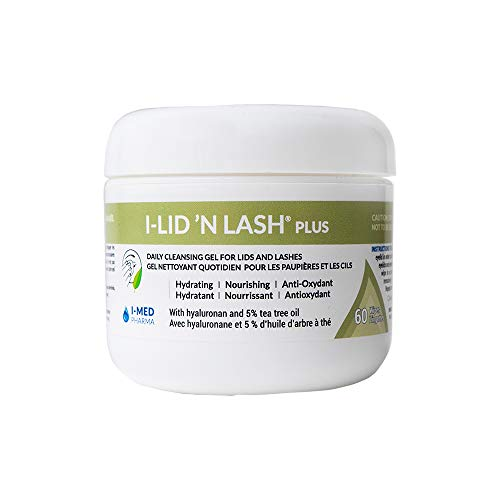 I-Med Pharma I-Lid 'N Lash | Daily Cleansing Gel for Lids and Lashes...