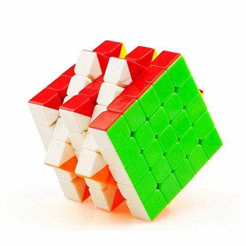 Cuberspeed YuXin Cloud 5x5 stickerless Speed Cube 5x5x5 Stickerless Magic Cube Puzzle