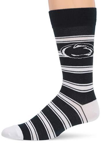OTS NCAA Penn State Nittany Lions Men's Shephard Dress Sock, Team Color, Large