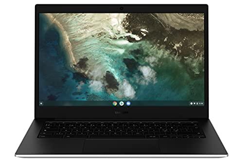 "SAMSUNG Galaxy Chromebook Go LTE, Computer Portatile XE345XDA Chrome OS, Display Screen 14"" HD LED, Batteria 42.3Wh, RAM 4GB, Memoria 64 GB, USB-C,Silver, Versione Italiana"