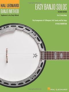 Easy Banjo Solos: For 5-String Banjo