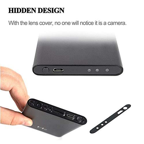 1080P 5000mAh Tragbare Versteckte Mini Powerbank Kamera Kleine Überwachungskamera, Compact Mikro Nanny Cam Sicherheit Kamera