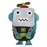 Emartbuy Niños Linda Inteligente Mochila Backpack Colegio Guardería Bolsa de Viaje - 3D Robots...
