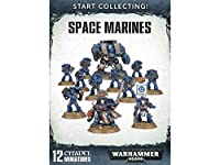 Games Workshop 99120101195 Start Collecting Space Marines Miniature