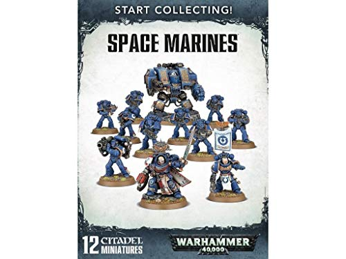 Games Workshop 99120101195 Start sammeln Space Marines Miniatur