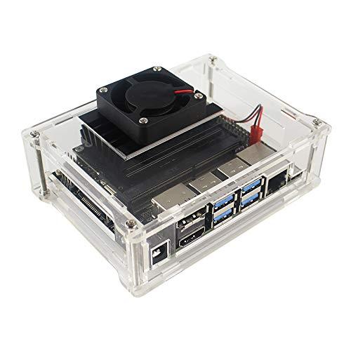 NVIDIA Jetson Nano開発者キットケース用の新しい到着アクリルケースボックス(ジャストボックス)