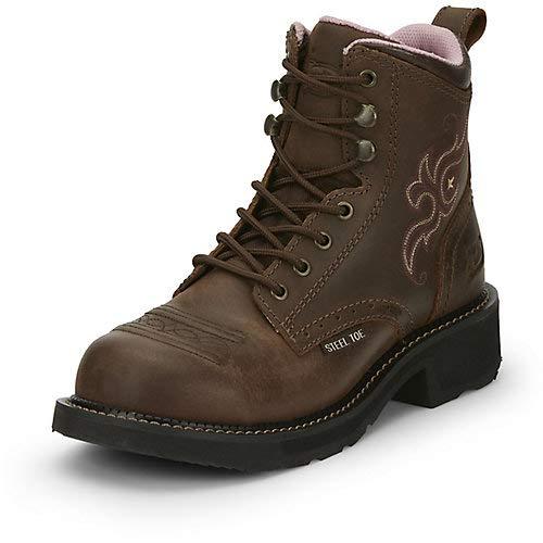 Justin Ladies Gypsy Katerina Steel Toe Work Boot 8