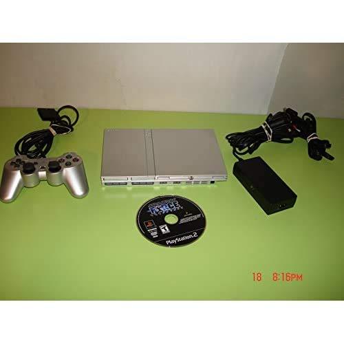 PS2 Slim Silver - Model SCPH-77001