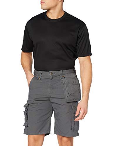 Carhartt Carhartt Mens Multi Pocket Ripstop Shorts, Gravel, W36