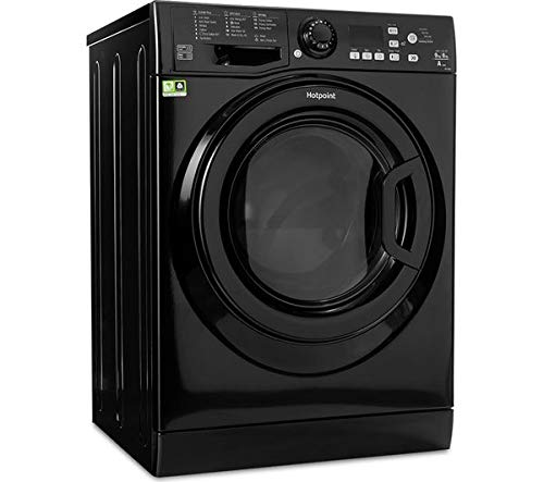 Hotpoint Aquarius FDF9640K Freestanding 9KG Washer Dryer - Black