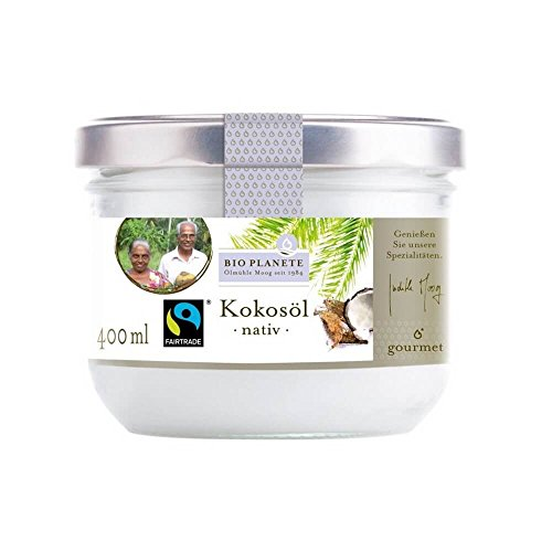 Bio Planete Bio Kokosöl nativ Fairtrade (1 x 400 ml)