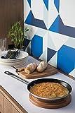 Tramontina Sartén de 26 cm de diámetro, de acero inoxidable, antiadherente, apta para todo tipo de cocinas, de inducción.