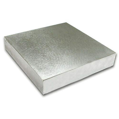 Beadsmith Lot Bloc Banc en Acier en métal 4 x 4 x .5-inch