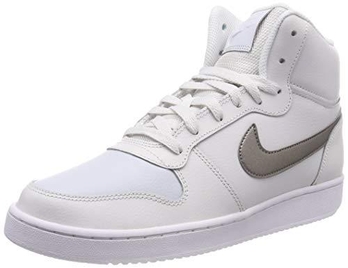 Nike Wmns EBERNON Mid, Scarpe da Fitness Donna, Multicolore (Platinum Tint/Mtlc Pewter/Pure Platinum 002), 38 EU