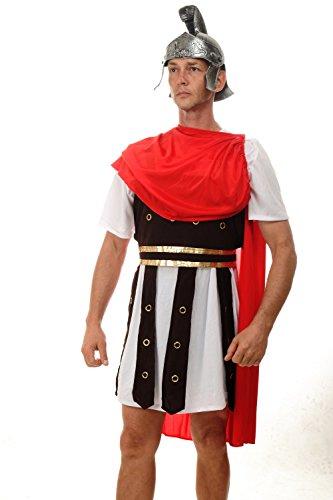 dressmeup Dress ME UP - Disfraz para Hombre Romano César Gladiador antigüedad centurión M-070
