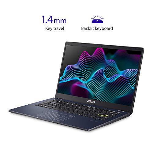 "ASUS Laptop L410 Ultra Thin Laptop, 14"" FHD Display, Intel Celeron N4020 Processor, 4GB RAM, 64GB Storage, NumberPad…"