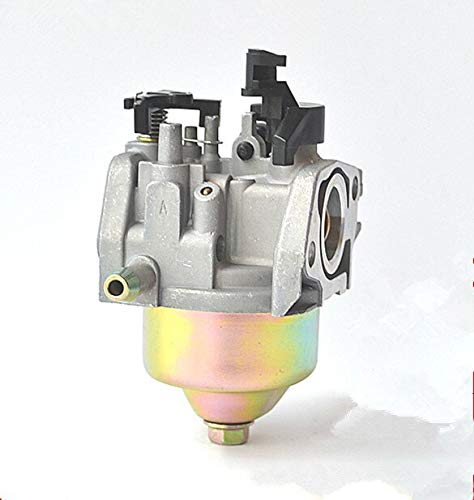DKEKE Carburador automático Choke 19mm para 1P70F 1P70 1P75F 1P75 LONCIN 196CC Motor de Eje Vertical Motor cortacésped Carburador DKEKE