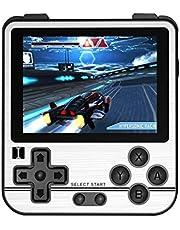 QoLeya Handhållen spelkonsol, multifunktionell retro spelkonsol klassisk retro spelspelare 2,8 tum IPS-skärm Musik och videospelare födelsedagspresent för barn och vuxna