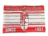 Granada CF Badgra Bandera, Rojo/Blanco, Talla Única