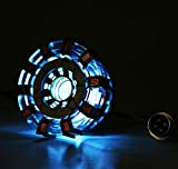 iron arc reactor - Gmasking Metal IM MK2 Led Arc Reactor Collectibles 1:1 Replica (No Assembly Required)