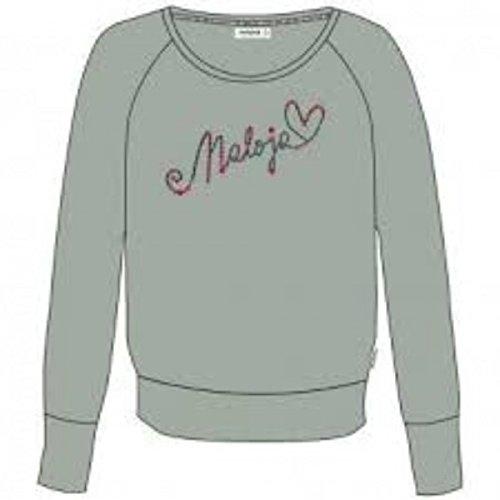 Maloja Cully T-Shirt à Manches Longues, Femme L Vert