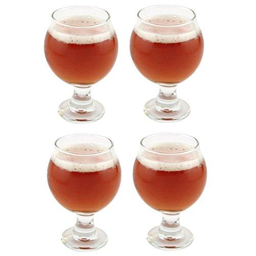 Libbey Belgisches Bierglas, 147 ml, Klar, durchsichtig, 4 Stück