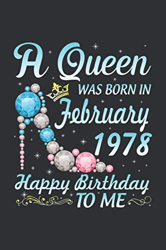 A Queen Was Born In February 1978 (Prayer Journal): Prayer Journal For Men 52 Week Scripture, Prayer Journal For Women In Spanish