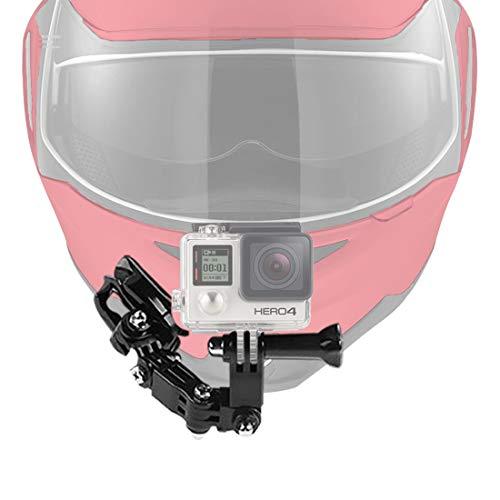 AxPower ヘルメット カメラ マウント [ GoPro Hero 対応 ] 日本語説明書付 アゴ部分にも アクションカメラ...